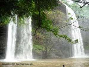 The State Of Tsenku Waterfalls In Dodowa