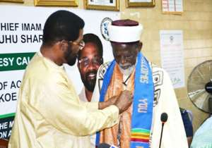 Chief Imam Commends Accra Mayor