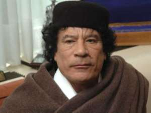 The danger with Muamua Gaddafi