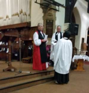 First Imo Woman Priested In London