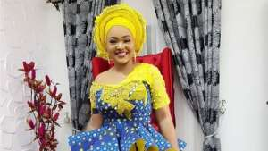 Nollywood's Beauty: Actress, Mercy Aigbe Slays in Ankara Outfit