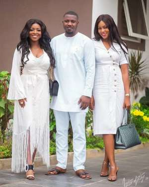 PHOTOS: Ghanaian Celebrities Storm John Dumelo Jnr's Outdooring Ceremony