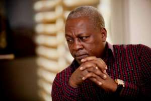 Ranting Of NDC: Glad Mahama Now Knows Of The Bitter Taste Of Political Violence