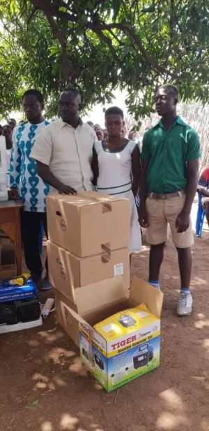 Murugu Basic School Receives Support From Deputy Chief Of Staff