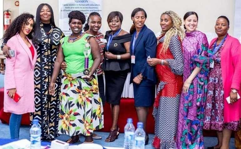 211201952229 uapctgfsrm picture 2 cwr members   celebrate teresia mwangies award at the 2018 kenya conference