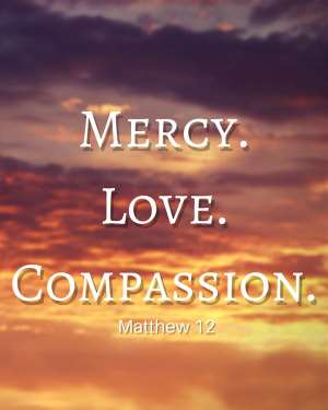 Enjoying The Lord's Great Love And Compassion