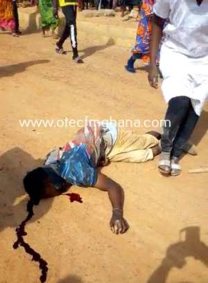 Kumasi Race Course: Traders' Clash With Developer Leaves One Person Unconscious