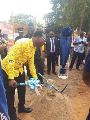 MTN Constructs ₵1.6M School Block for Ghana Police in Tesano