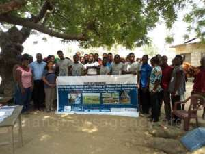 Improved Cookstove Campaign Goes To Bomigo Island