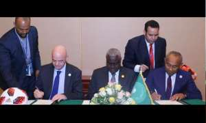 Fifa, Caf And African Union Sign Historic MoU On Education, Anti-Corruption Safety