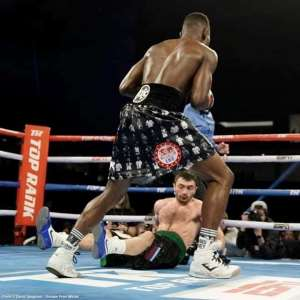 IBF Champion Richie Commey Arrives Home On Val's Day Feb 14th