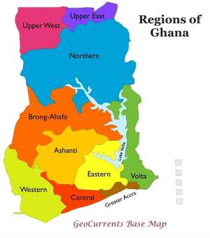 History Of Regions In Ghana