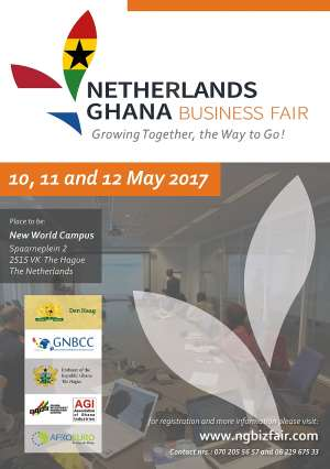 Netherlands – Ghana Business Fair Slated For May 2017