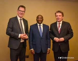 German Economics Minister Says Ghana Made 'Impressive Economic Progress'