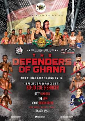 Muay Thai Championship: Defenders Of Pro Fighting Factory (Ghana) To Display At Bukom Boxing Arena