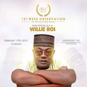 Up And Coming Artistes Mourn Zylofon's Willie Roi