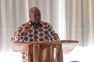 Mahama Hits Back At Gov't Over Meeting With Diplomats