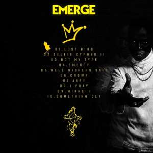 Dr_Drilla Officially Unveils Cover Art + TrackList for 'Emerge' Mixtape