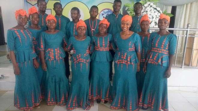 Group Photo of the Choir
