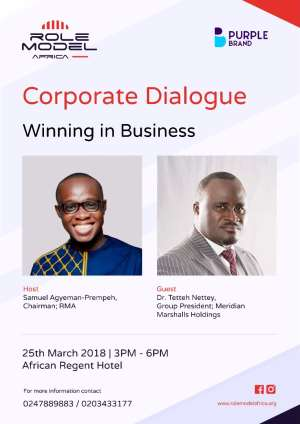 Dr. Tetteh Nettey To Appear On Role Model Africa 'Corporate Dialogue'