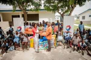 Total Petroleum Ghana Supports Mephibosheth Training Center In Gomoa