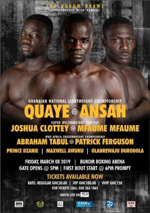 Former IBF Champion Joshua Clottey Makes A Return On Box Office – Independence Rumble Bill
