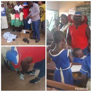 NPP Women's Organiser Introduces 'One Child One Sandal Project'