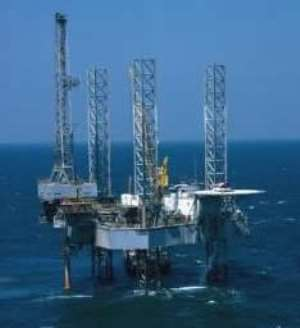 Ghana pours its first oil in 2010