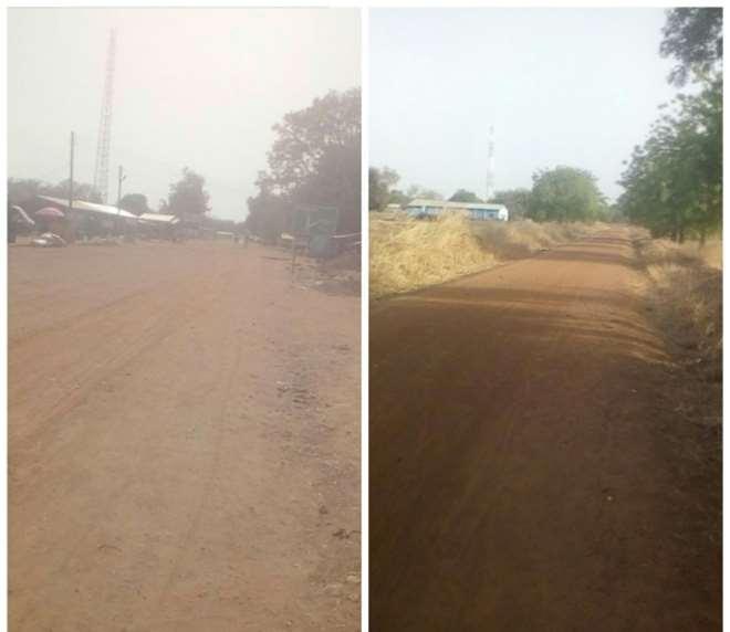Roads In The Upper East Region