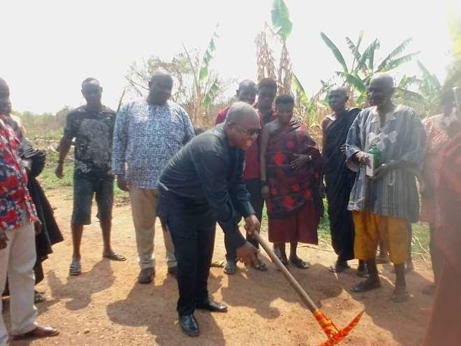 DCE for Sekyere Afram Plains district of the Ashanti region, Hon. Joseph Owusu