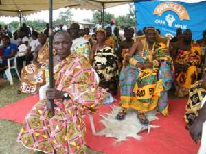 Mputu Festival Held At Gomoa Pomadze