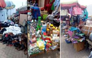 Accra Traders Back To The Pavements