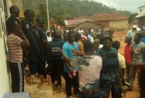 Gunshots Fired At NPP Elections As Police Arrest Aspirant