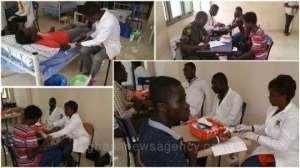 Regent University Supports Blood Bank Of 37 Military Hospital