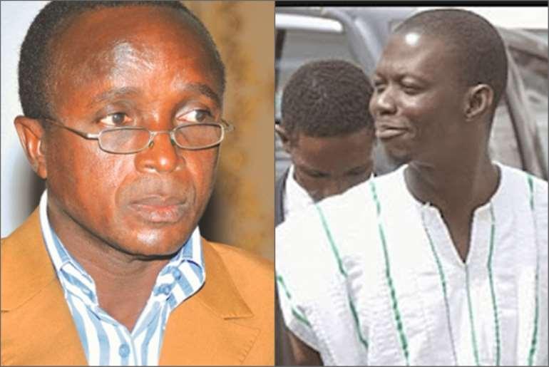 Abuga Pele (L) and Philip Assibit (R)