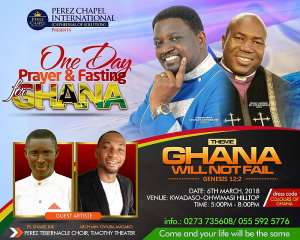 Ghana Needs A Special Holiday For National Prayers--Bishop D.C Ayarewaba