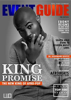 King Promise Covers Eventguide Magazine As He Tells Lifestory