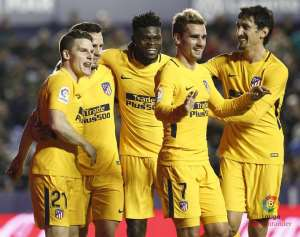 Thomas Partey's Atletico Madrid Left With Just 20 Players For 20 games