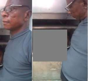 Photos: Ghanaians Are Angry With Video Of Mortuary Man Fondling Ebony's Dead Body