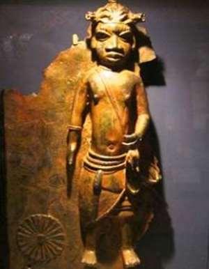 Priest of Ugbor Village with dreadlocks, Benin, Nigeria, now in Horniman Museum, London, United Kingdom.