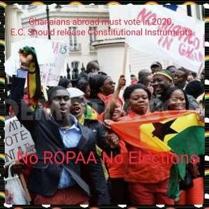 Towards ROPAA 2020: Diaspora Group Demand Constitutional Instruments From EC