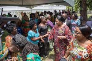 Towards International Womens' Day 2019 *...first Lady Interacts With Market Women And Street Vendors