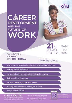 Career Development And The Future Of Work Training