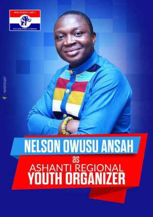 Nelson Owusu Ansah, Incoming Ashanti Regional Youth Organizer Celebrates All Women