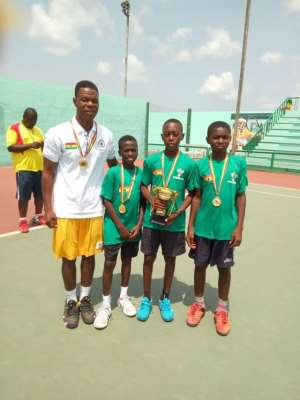 Ghana Retain ITF/CAT U-12 Tennis Title