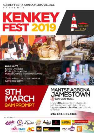 The Official Kenkey Festival Kicks Off On Saturday 9