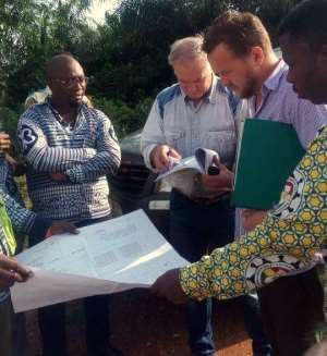 Prestea Huni-Valley: Dce Inspects Five Ongoing Projects