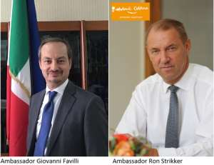 Italian And Netherlands Ambassadors Support Justice For Victims Of International Crimes, ICC
