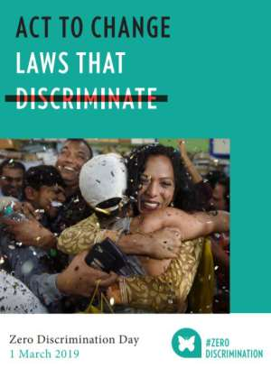 UNAIDS Ghana: Let's Work To Change Discriminatory Laws To Ensure The Rights Of All