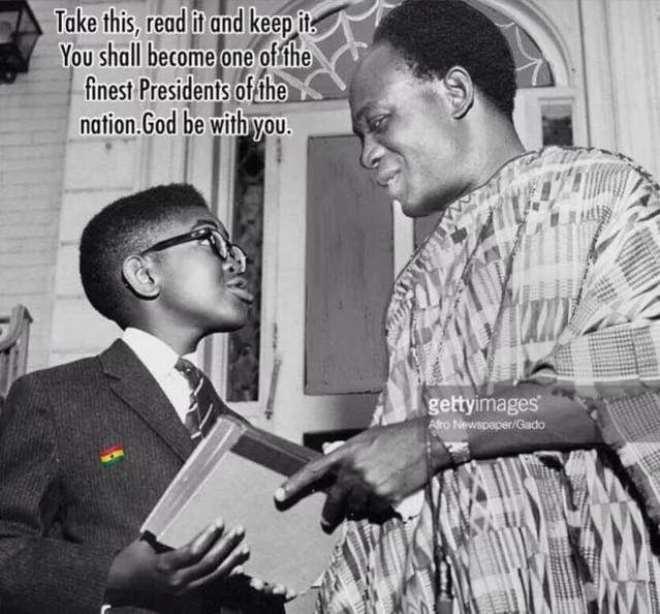 Akufo-addo Met Kwame Nkrumah